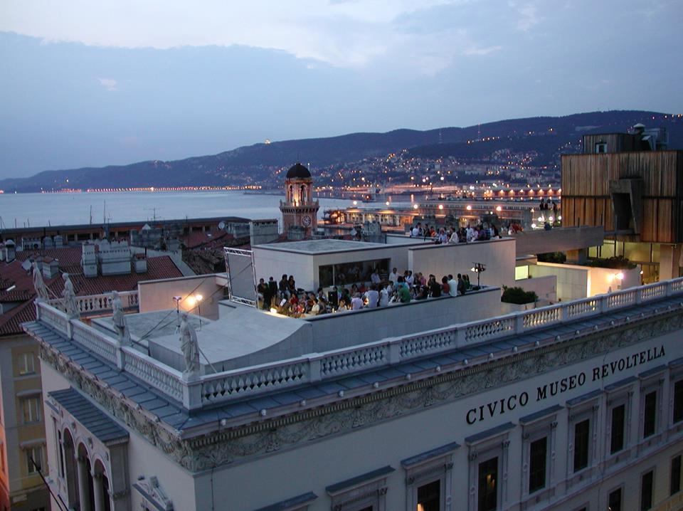 Terrazza Museo Revoltella Trieste