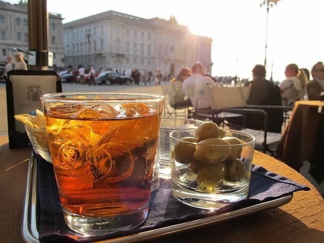 Caffè degli Specchi in Piazza Unità d'Italia - Trieste