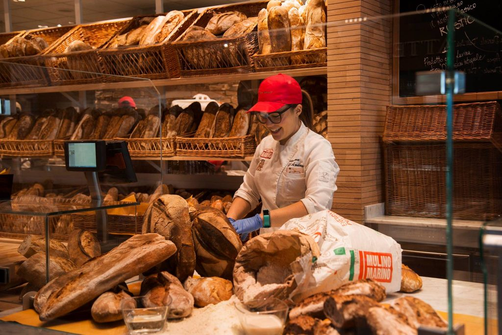 il pane di Eataly Trieste